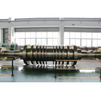 Quality GB/T3077-1999 30Cr1Mo1V, 25Cr2Ni4MoV Forged Steel Shaft Steam Turbine Rotor Forging for sale