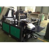 Quality Medical Non Woven Fabric Bag Manufacturing Machine / Non Woven Loop Handle Bag Making Machine for sale