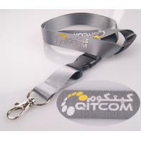 Quality Green nylon silk screen lanyards can have medical biological compatibility for sale