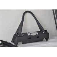 Quality Aluminum / Steel Jeep Wrangler Front Bumper With Black Powder Coated Steel for sale