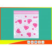 Buy Waterproof Ldpe Resealable Small Ziplock Bags Colored Lip Printed Customized at wholesale prices