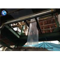 Quality 160mm Small Width LDPE Tubular Packaging Transparent Packaging Plastic Film Rolls for sale