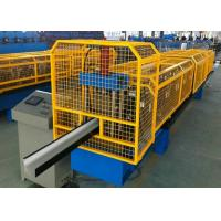 Buy Gavalnized Half Round And K Gutter Channel Roll Forming Machine at wholesale prices