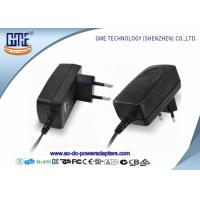 Quality Low Ripple CE GS ROHS Approved EU Plug 12V 1A AC DC Power Adapter For Acoustics for sale