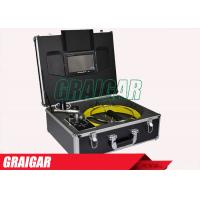 Quality Video Recording Visual Pipe Inspection Equipment CCTV Pipeline Surveys Reel Kit 710D for sale