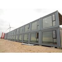 China 2mm PVC Floor Storage Container Homes Double Glazing Glass Door And Window on sale
