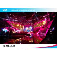 SMD 1R1G1B Rental LED Display Screen , P4.81 Indoor Led Billboard Die Casting