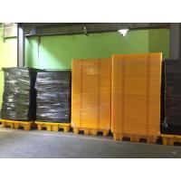 Quality Highly Visible IBC Spill Containment Pallet HDPE For Chemical Oil Tank for sale