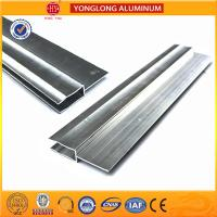 Quality Silver / Champagne Anodized Aluminum Extrusion Profiles For Industrial for sale
