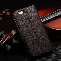 Quality Joint Litchi IPhone Leather Wallet Case For Iphone 6 Plus Paint Oil Business Style for sale