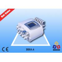 Quality Non - Invasive Cryolipolysis Lipolaser Fat Reduction Machine With 6 Diode Pads for sale