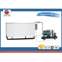 Buy Carbonated Drink Production Industrial Water Chiller , Rectangular Stainless Steel Water Tank at wholesale prices