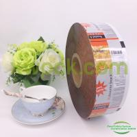 China Aluminum Laminated Packaging Roll Film Plastic For  Food Packaging Food Grade on sale