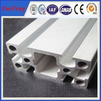 Quality 6000 series Custom Industrial Anodized Aluminum Profile square T slot aluminum profile for sale