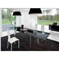 Home Featuring Modernity tempered glass topped dining tables