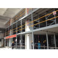Buy Multi Shelf Durable Conventional Industrial Mezzanine Floor System / High Density Mezzanine Pallet Racking at wholesale prices