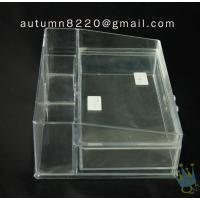 Quality BO (60) acrylic portable jewelry display cases for sale