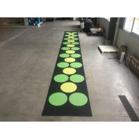 Quality Recycled Outdoor Rubber Mats , 15-60mm Thickness Rubber Gym Flooring Tiles for sale