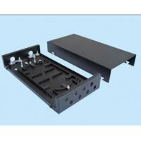Quality Mini Type 8 Port Patch Panel Wall Mount Fiber Termination Box For Jointing Fiber Cable for sale