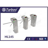 Custom Semi - Auto RFID Access Control Turnstile Gate , Waist High Turnstile