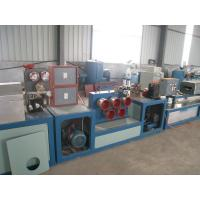 Quality PP / PET Strapping Roll Manufacturing Machine Single Screw Design High Efficiency for sale