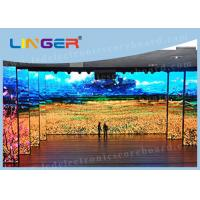 Quality High Resolution Big Led Screen , Indoor Full Color Led Display 1R1G1B for sale