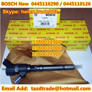 Quality BOSCH Original Injector 0445110290 / 0445110126 for HYUNDAI /KIA 33800-21900 / 33800-27900 for sale