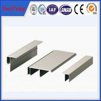 Quality F shape new aluminium products, aluminium profile for glass roof ( china top alu Profiles) for sale
