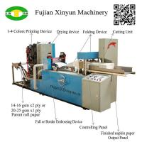 Hot sale full automatic napkin tissue paper making machine price