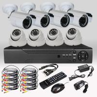 Quality CCTV Security DIY  8CH 720P 1.0MP Camera AHD DVR Day Night Home Surveillance System for sale