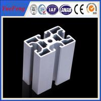 Quality China supplier of OEM custom Industrial aluminium extrusion profiles for sale