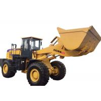 Quality Yellow Articulated Wheel Loader Heavy Construction Machinery 6000kg Rated Load for sale