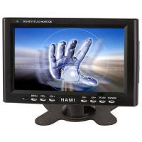 Quality 7-inch Touch Screen Car PC LCD Monitor with 12V DC Power, AV/VGA Input for sale