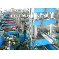 Buy Upright Shelf Frame Storage Rack Roll Forming Machine Profile Type at wholesale prices