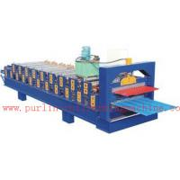 Quality PLC Control Automatic Steel Roof Panel Roll Forming Machine Double Layer High Efficiency for sale