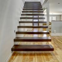 Quality floating stair / Glass Staircase / Build Floating Staircase for sale