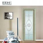 Quality European Standard Toilet Aluminium Swing Door , Soundproof Grey Aluminium French Doors for sale