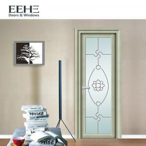 European Standard Toilet Aluminium Swing Door , Soundproof Grey Aluminium French Doors
