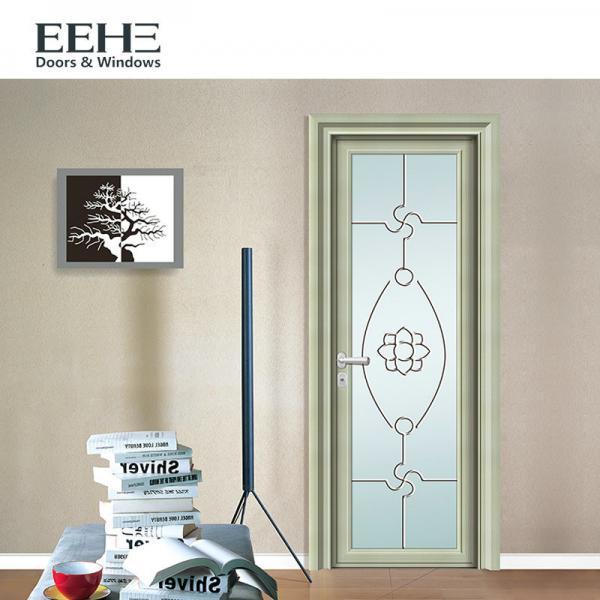 Buy European Standard Toilet Aluminium Swing Door , Soundproof Grey Aluminium French Doors at wholesale prices