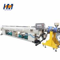 China Double Screw Double Wall Corrugated Pipe Extrusion Line ISO / CE Certified on sale