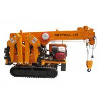 Quality New Spider Mini Crawler Crane , Dual Power with 800mm Total Body Width Promotion for sale