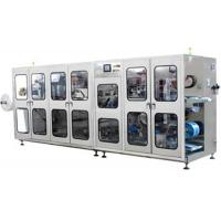 Quality Automatic double channels wet tissue making machine production line for sale