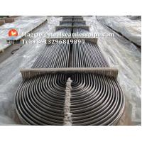 Quality Stainless Steel U Bend Tube ASTM A268 TP405/ ASTM A213 TP304 / TP304L / TP316L / TP316Ti / TP316H / ASTM B677 904L for sale