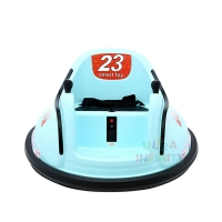 Quality Wholesale Factory Price 6V Electric Power Remote Control 360 Degree Spinning Kids Zone Ride On Bumper Car With ASTM-Cert for sale