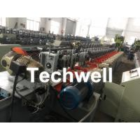 Quality Octagonal , Octagon Pipe Roll Forming Machine for Rolling Shutter Axes With Manual Decoiler / Uncoiler for sale