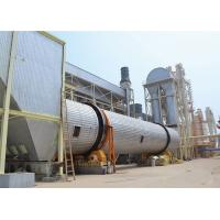 Big Output Wood Chips Flake Strand Single Pass Rotary Drum Dryer for sale