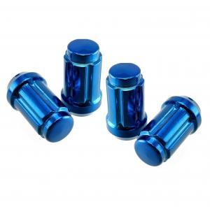 China 20x Subaru Blue Chrome Spline Lug Nuts 12x1.25 Fits Legacy Impreza WRX Sti FR-S on sale