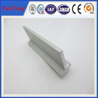 Quality extruded t-shape aluminium profile,anodized aluminum profile, aluminium t profile in china for sale