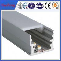 Quality 6000 series anodized aluminum extrusion price,aluminium profile for led lamps tube for sale