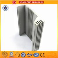Quality Heat Insulating Aluminum Section Materials For Window Frame Silver Color for sale